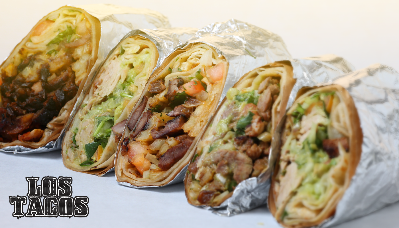 Our Burritos, Delicious Like Our Tacos, But More Of It!
